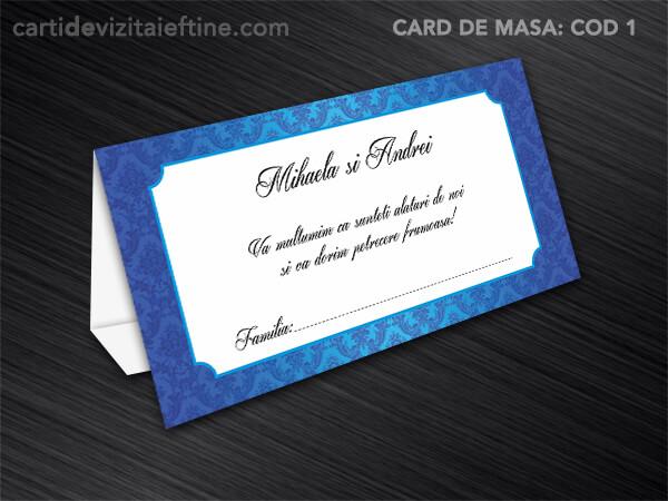 Card de masa - plic bani - nunta - botez CDVi 1