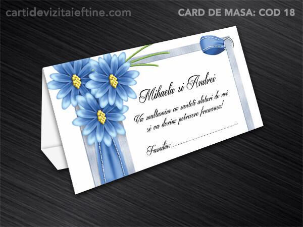 Card de masa - plic bani - nunta - botez CDVi 18