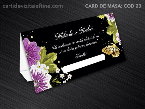 Card de masa - plic bani - nunta - botez CDVi 23