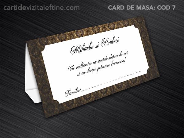 Card de masa - plic bani - nunta - botez CDVi 7