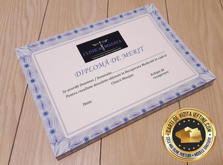 Diplome personalizate online ieftine ca pret CDVi