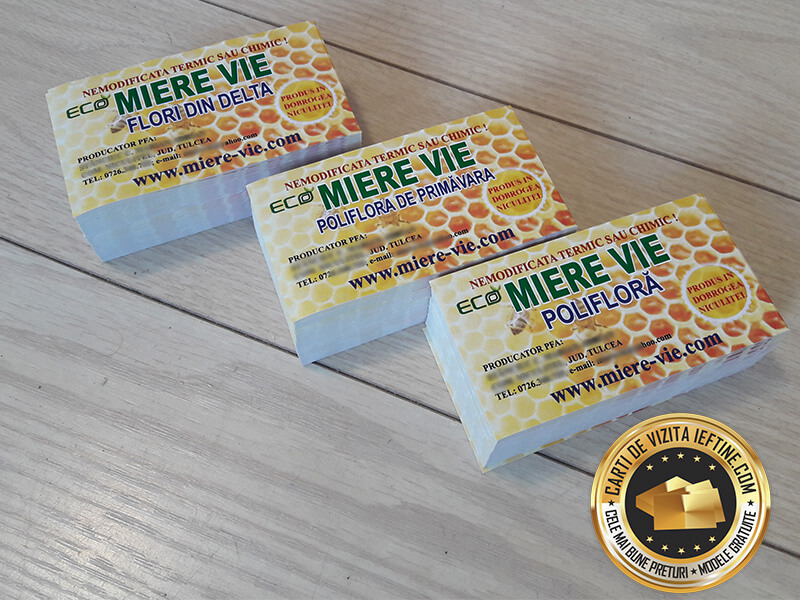 etichete borcane miere albine autocolante personalizate CDVi