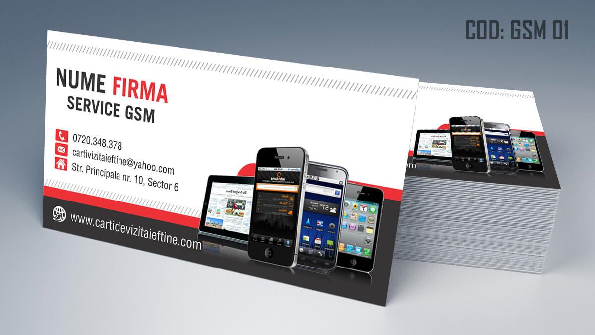 Carti de vizita Service Gsm Reparatii telefoane laptop tablete 01