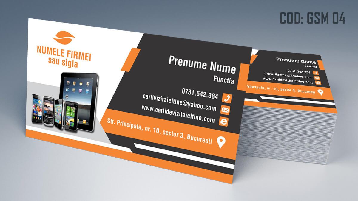Carti de vizita Service Gsm Reparatii telefoane laptop tablete 04