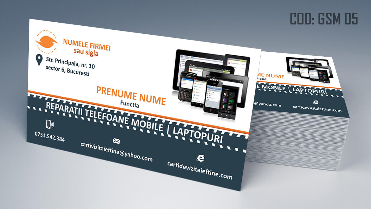 Carti de vizita Service Gsm Reparatii telefoane laptop tablete 05