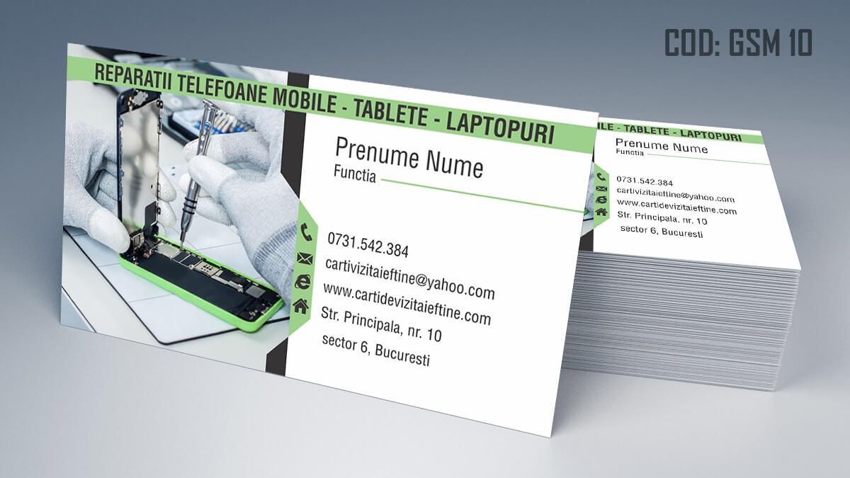 Carti de vizita Service Gsm Reparatii telefoane laptop tablete 10