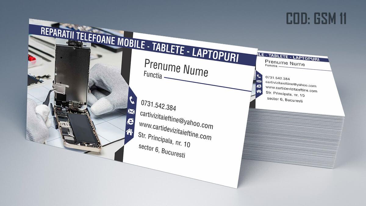 Carti de vizita Service Gsm Reparatii telefoane laptop tablete 11
