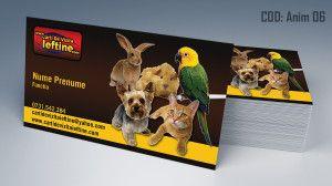 Carti de vizita animale cod anim06