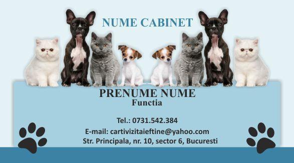 Carti de vizita cabinet Veterinar - 08