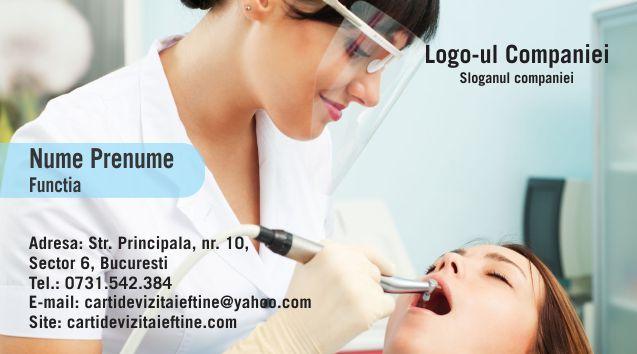 Carti de vizita cod Dentist - 49