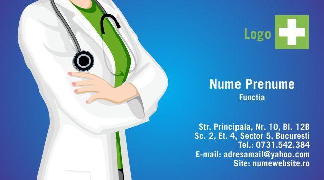 carti de vizita doctor cod Medicina - 51