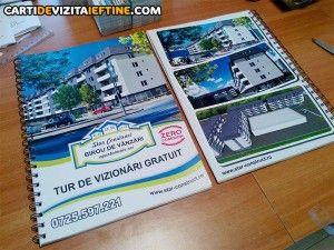 carti de vizita - portofoliu 24 bloc notes personalizate