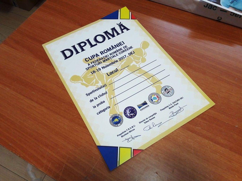 diplome personalizate a4 by CDVi