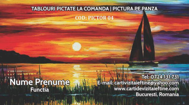 carti de vizita Pictor 04