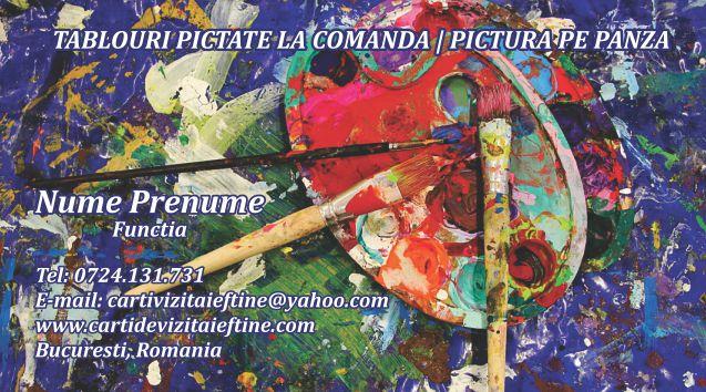 carti de vizita Pictor 06