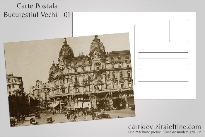 Carti postale Bucurestiul vechi 01 - CDVi