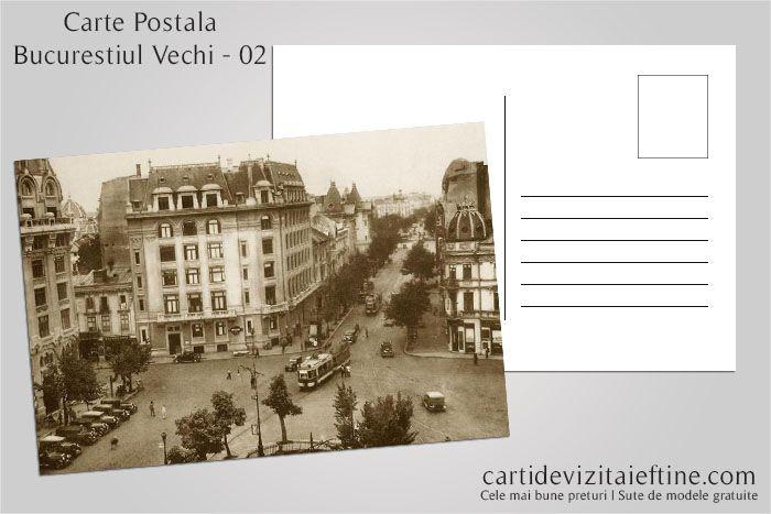 Carti postale Bucurestiul vechi 02 - CDVi