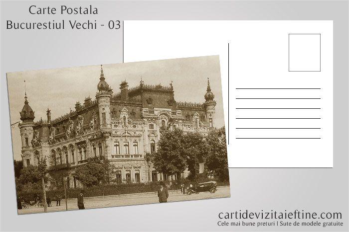 Carti postale Bucurestiul vechi 03 - CDVi