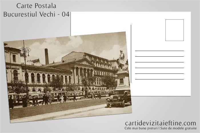 Carti postale Bucurestiul vechi 04 - CDVi