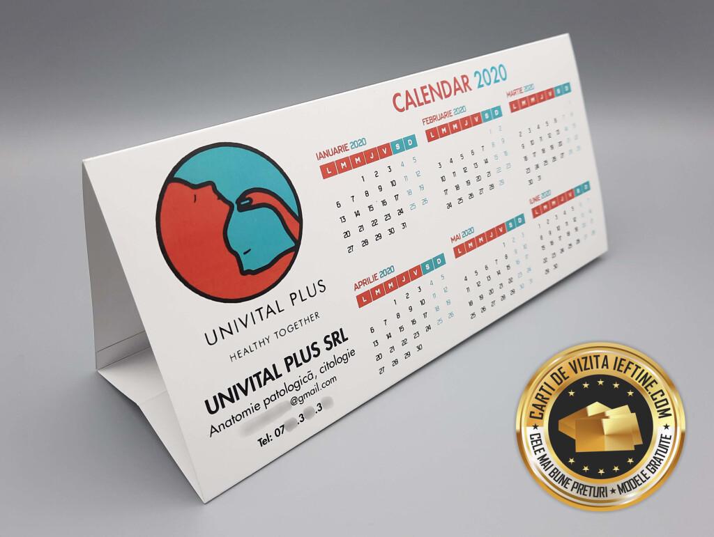Calendare prisma de birou personalizate ieftine CDVi 2
