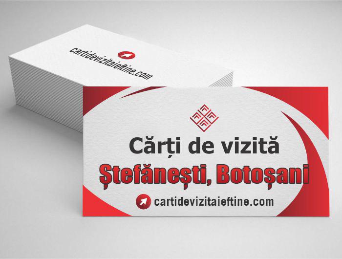 carti de vizita Ștefănești, Botoșani - CDVi
