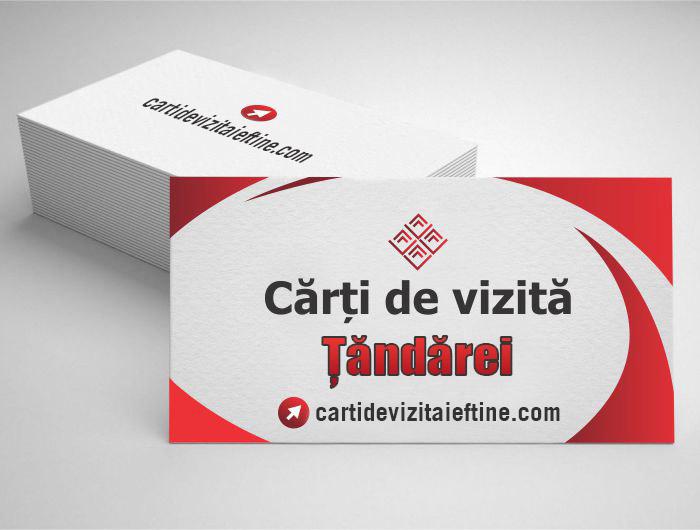 carti de vizita Țăndărei - CDVi