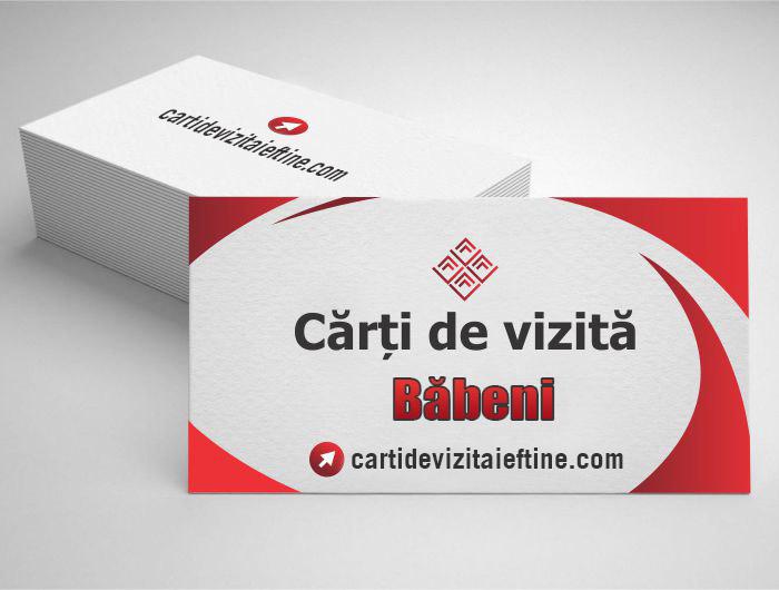 carti de vizita Băbeni - CDVi