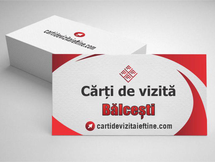 carti de vizita Bălcești - CDVi
