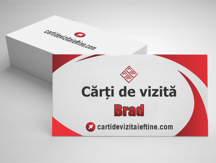 carti de vizita Brad - CDVi