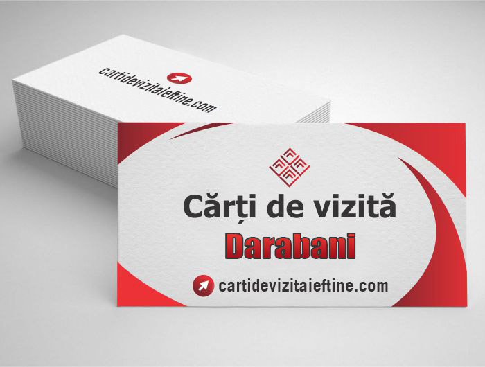 carti de vizita Darabani - CDVi