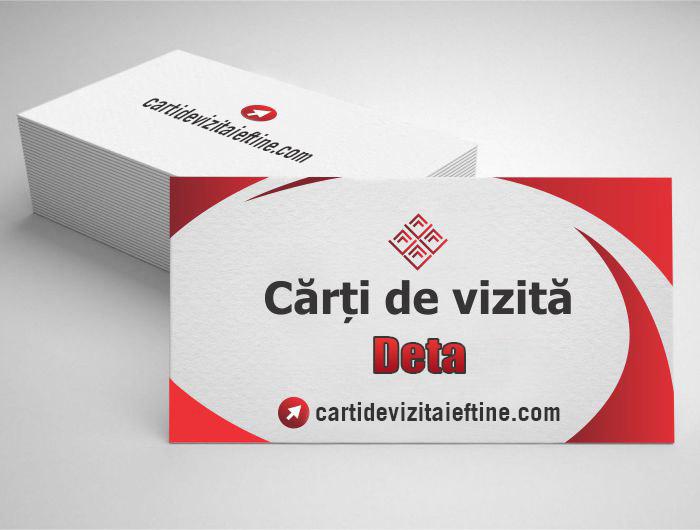 carti de vizita Deta- CDVi