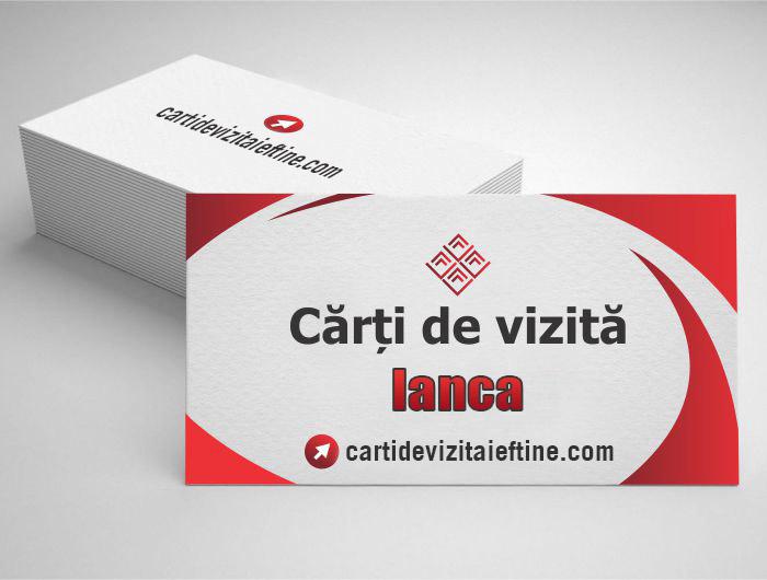 carti de vizita Ianca - CDVi
