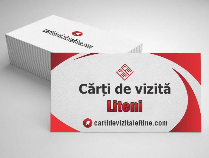 carti de vizita Liteni - CDVi
