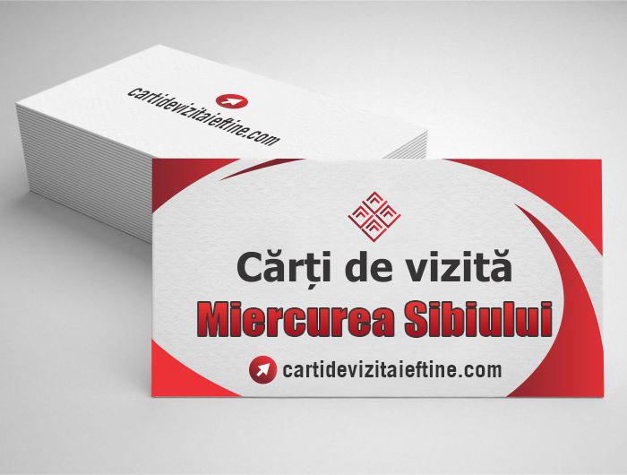 carti de vizita Miercurea Sibiului - CDVi