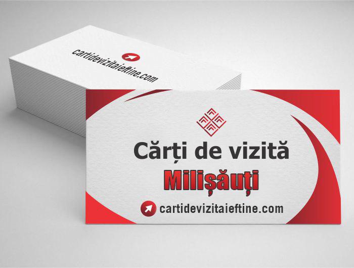 carti de vizita Milișăuți - CDVi