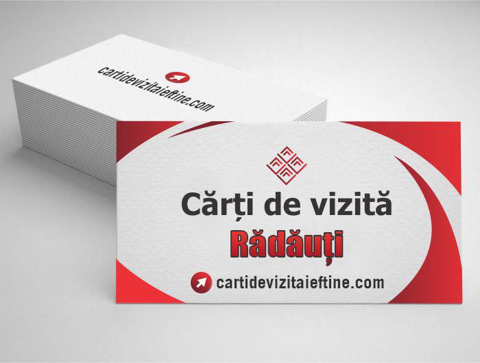 carti de vizita Rădăuți - CDVi