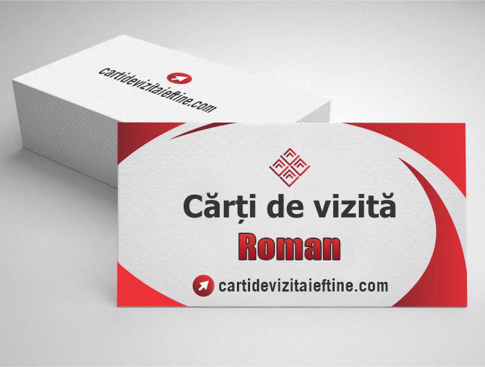 carti de vizita Roman - CDVi