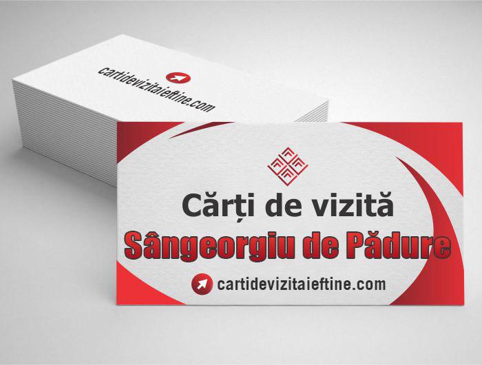 carti de vizita Sângeorgiu de Pădure - CDVi