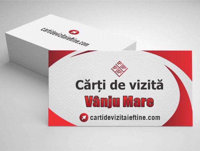 carti de vizita Vânju Mare - CDVi